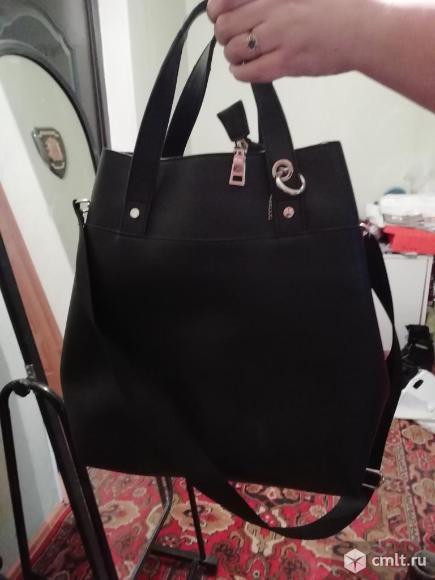 Продаю сумку практически новую. Фото 1.