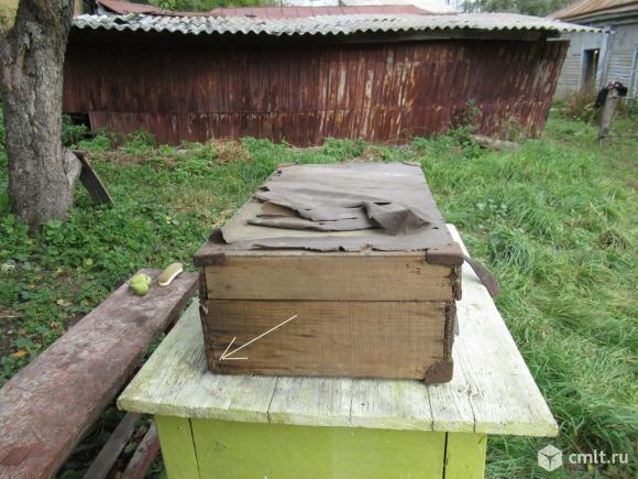 Деревянные чемоданы советские. Самодельные.. Фото 9.