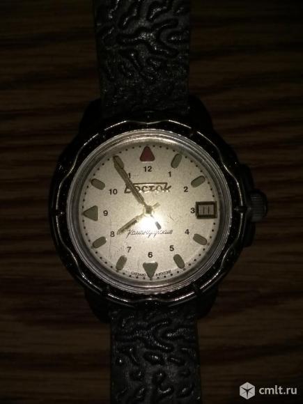 Механические часы Восток СССР. Фото 1.