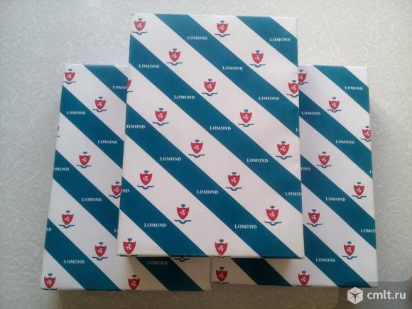 1 пачка бумага Lomond A4 (210x297mm) 80г/м2, 500л. Фото 1.
