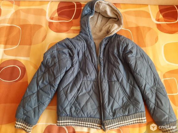 Куртка двусторонняя. Фото 1.