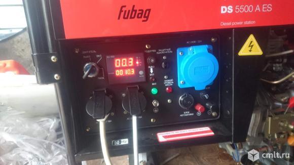 Дизель-генератор Fubag DS5500. Фото 4.