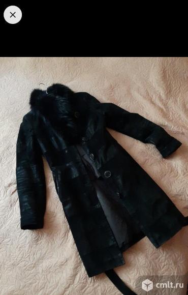 Пальто зимнее/осеннее. Фото 1.