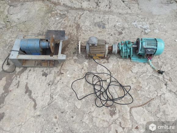 Электродвигатель для прокачки жидкостей, 220/380 В, новый. Фото 1.