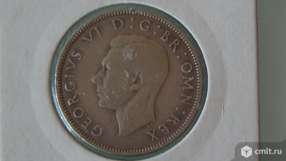 2 шиллинга (флорин) Великобритания 1939г.. Фото 1.