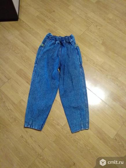 Джинсы женские детские . Осенно-Вессенние джинсы для детей, от 10 до 13 лет. Фото 1.