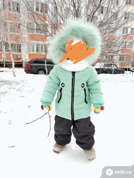 Продам зимнюю курту на девочку. Фото 2.