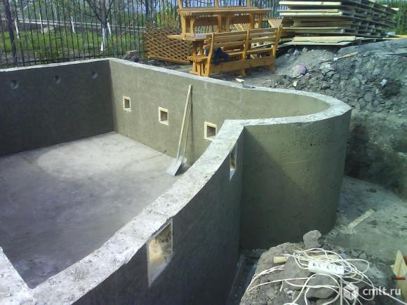 """бетонные бассейны """"под ключ"""""""