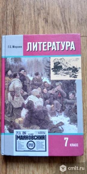 Литература Г.С.Меркин 7 класс. Фото 2.