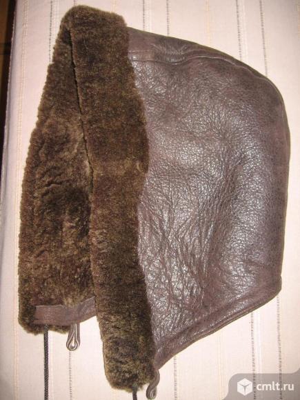 Дубленка натуральная на пуговицах р. XL. Фото 4.