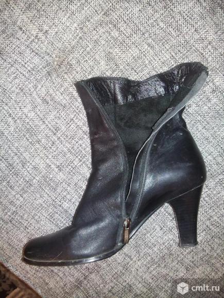 Ботинки демисезонные натуральная кожа, пр-во Турция. Фото 4.