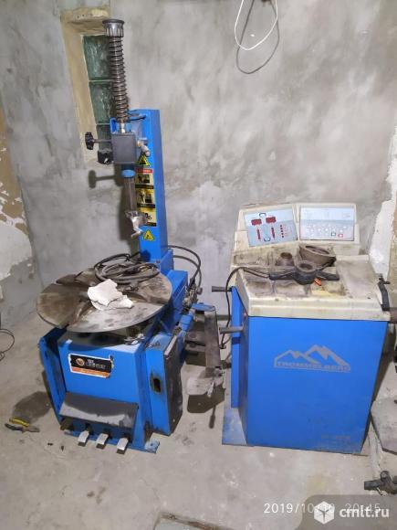 Оборудование для шиномонтажа. Фото 3.