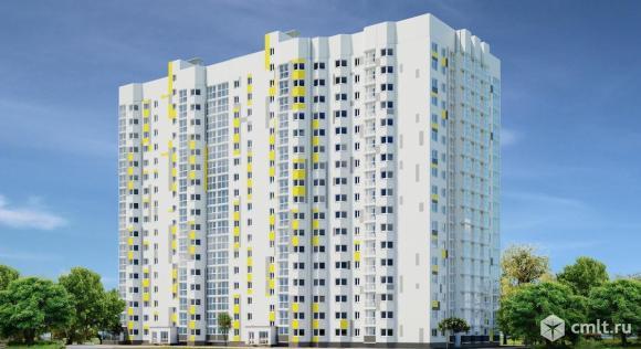 1-комнатная квартира 37,3 кв.м. Фото 3.