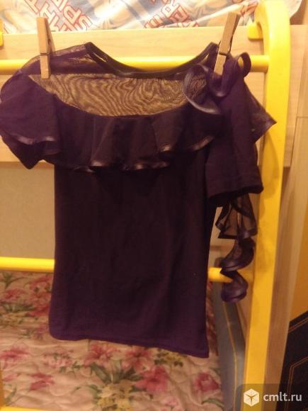 Танцевальная блузка для девочки. Фото 1.