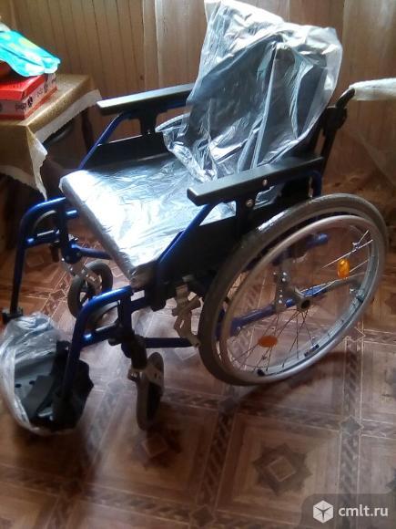 Продаю новую инвалидную коляску.. Фото 1.