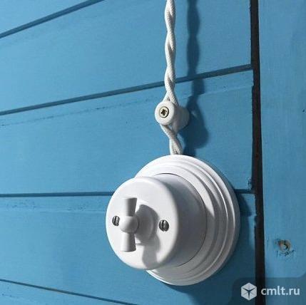 Ретро проводка. Фото 1.