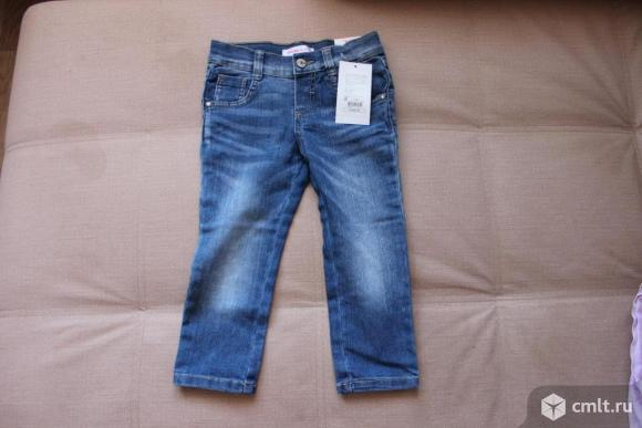 Новые джинсы для девочки 92 размера. Фото 1.
