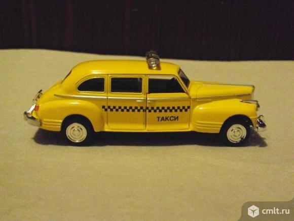 """Автомобиль Зис-110 Такси """"Технопарк"""". Фото 6."""