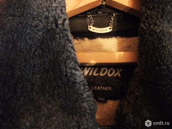 Кожаная куртка зимняя. Фото 4.