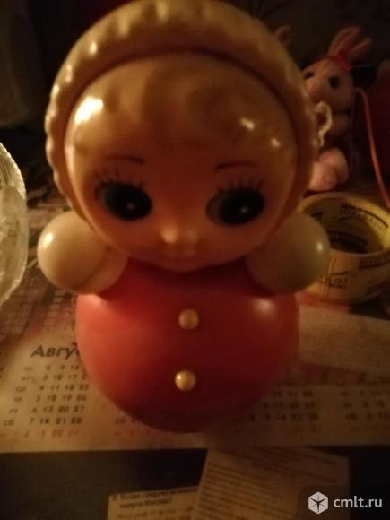 Детская игрушка музыкальная неваляшка. Фото 1.