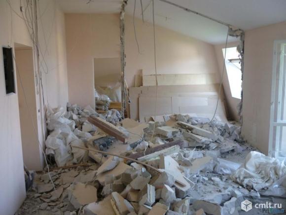 Демонтаж. Слом стен,перегородок. Фото 3.