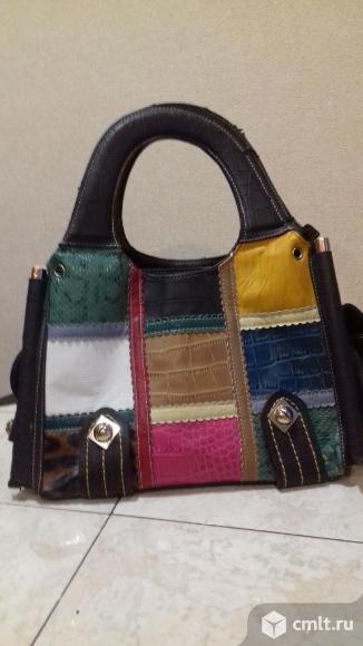Продаю новую сумку из дабая. Фото 1.
