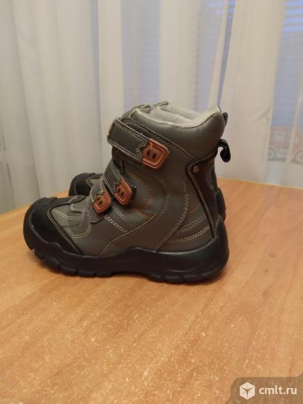 Ботинки зимние на мембране с антискользящим. Фото 1.