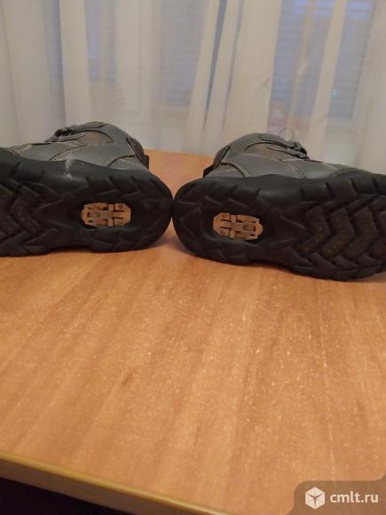 Ботинки зимние на мембране с антискользящим. Фото 3.