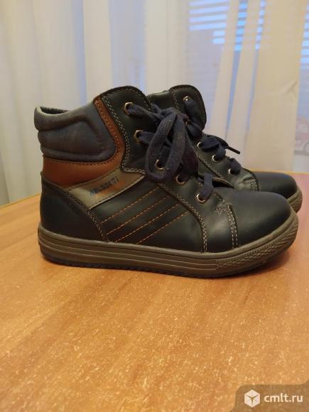 Ботинки осенние р.32. Фото 1.