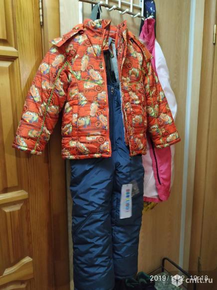 Продам зимнюю куртку и штаны. Фото 1.