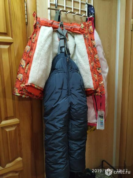 Продам зимнюю куртку и штаны. Фото 3.