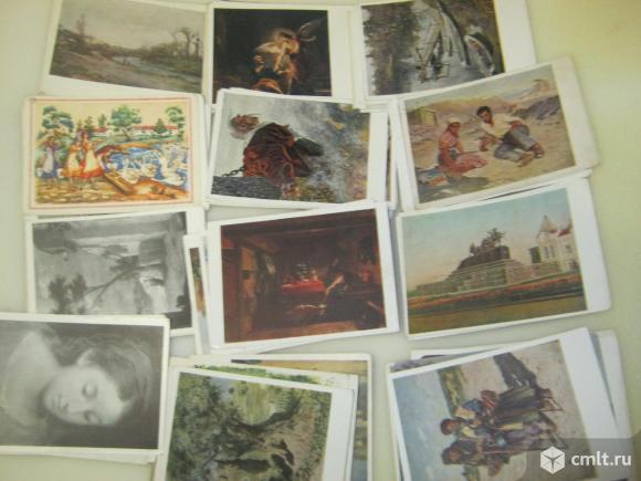 Почтовые карточки и открытки. Фото 1.