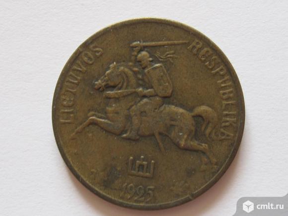50 центов 1925 Литва. Фото 6.