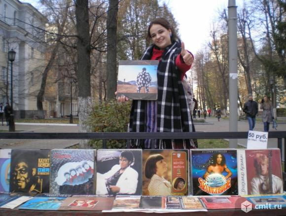 Пластинки московского рока. Фото 1.