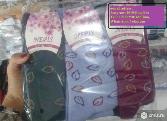 Носки оптом разное виды. Фото 6.