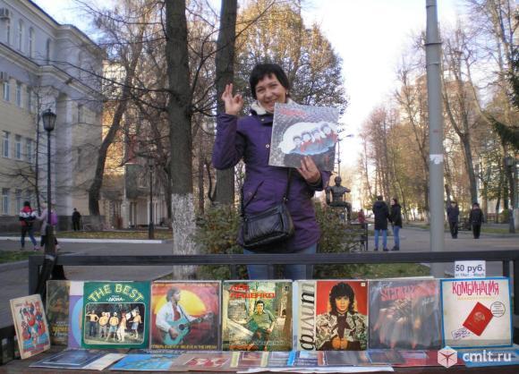 Пластинки Led Zeppelin. Фото 1.