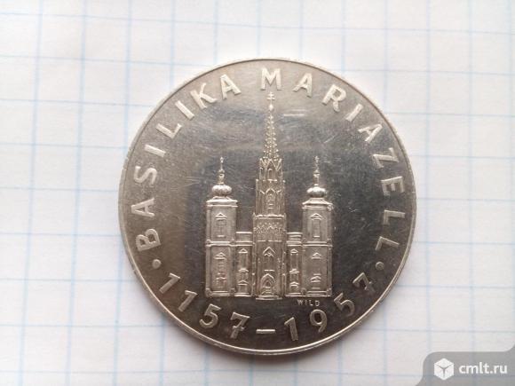 Токен-Basilika Mariazell 1957г. Серебро 0.900. Фото 1.