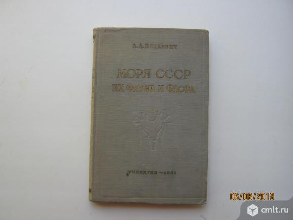 Зенкевич. Моря СССР, 1951.. Фото 1.