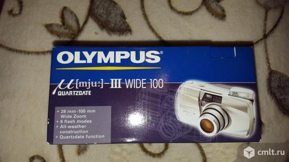 Фотоаппарат пленочный Olympus. Фото 1.