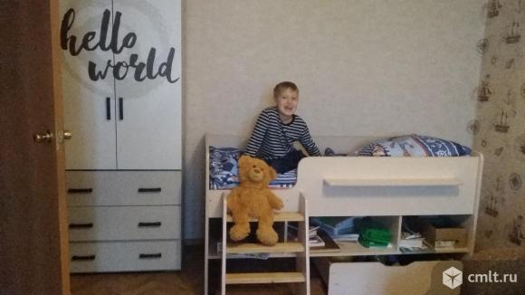 Детская кровать-чердак. Фото 1.