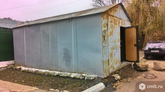 Металлический гараж 21 кв. м. Фото 1.
