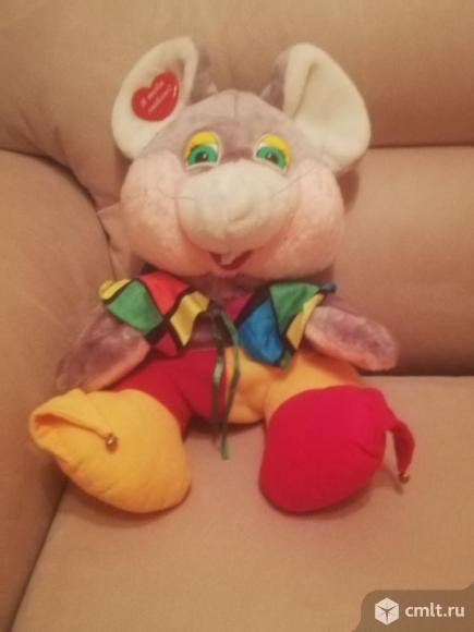 Детский рюкзак игрушка мышь. Фото 1.