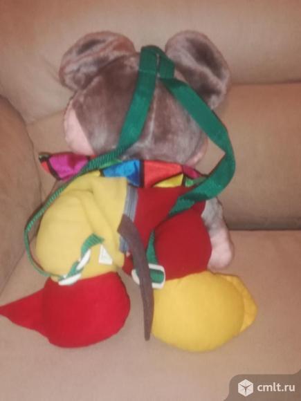 Детский рюкзак игрушка мышь. Фото 3.