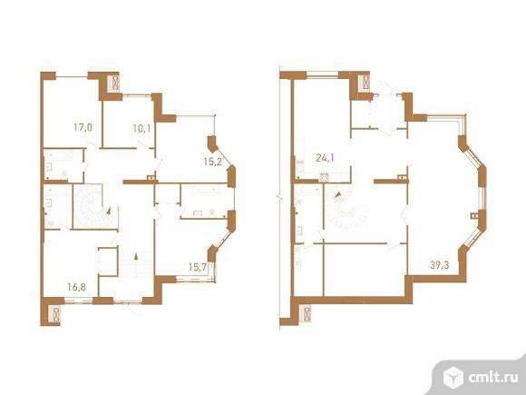 6-комнатная квартира 279,1 кв.м. Фото 1.