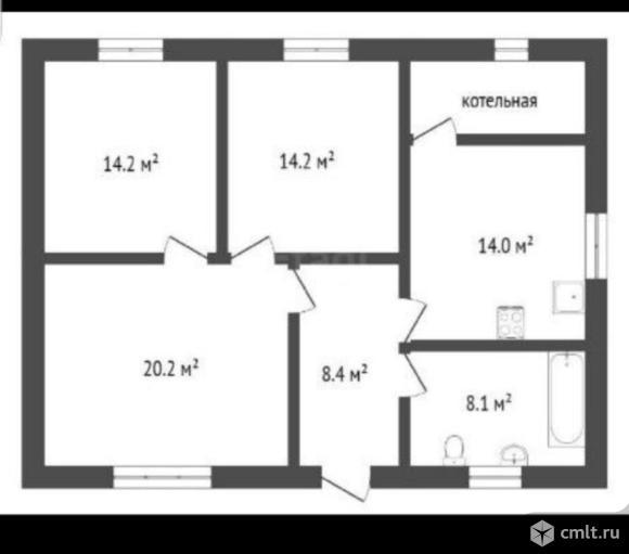 Дом 105 кв.м. Фото 10.