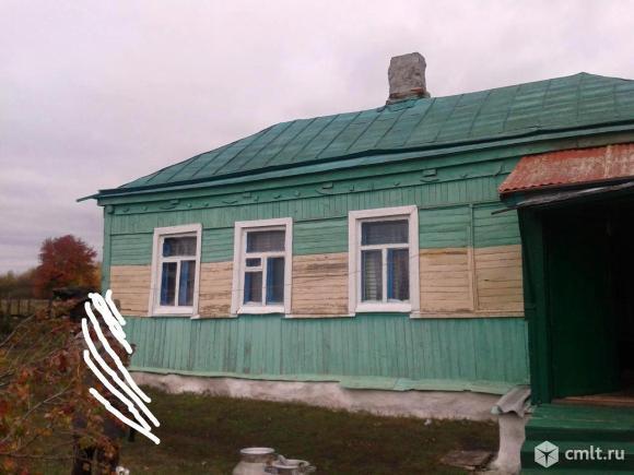 Панинский район, Павловка. Дом, 34 кв.м, 55 соток, колодец. Фото 1.
