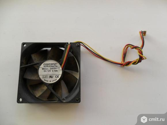Вентилятор на компьютер. Фото 1.