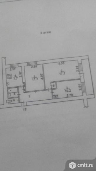 3-комнатная квартира 65 кв.м. Фото 1.