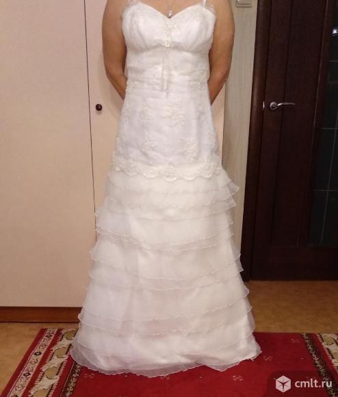 Свадебное платье- трансформер. Фото 1.