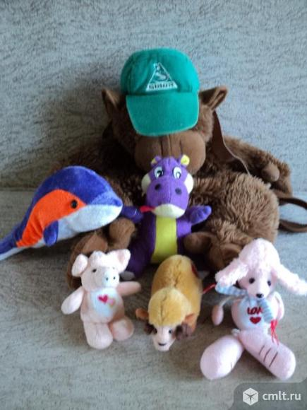 Мягкие игрушки пакетом. Фото 1.